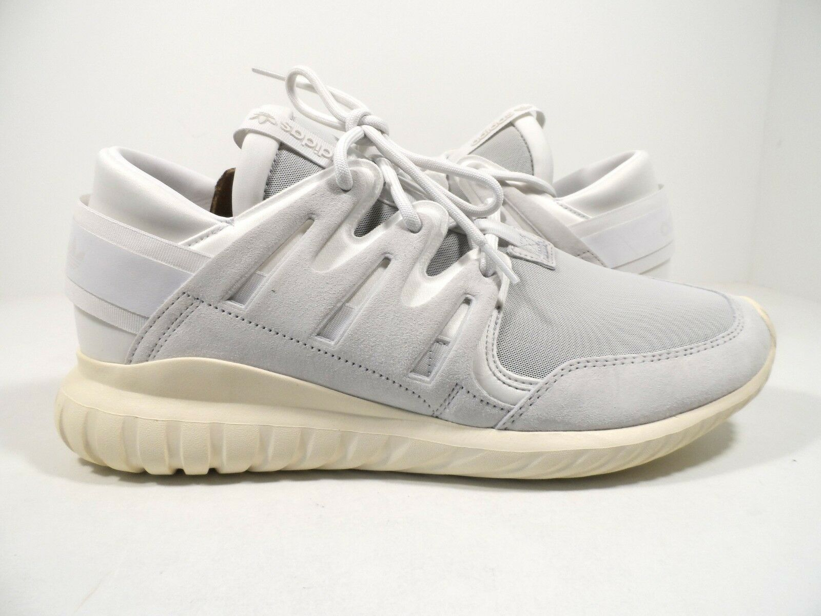 Adidas Originals Men's Tubular Nova Premium Running shoes Vintage White Size 9