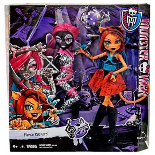 Monster High Fierce Rockers Catty Noir & Toralei Exclusive 2-Pack Monster High