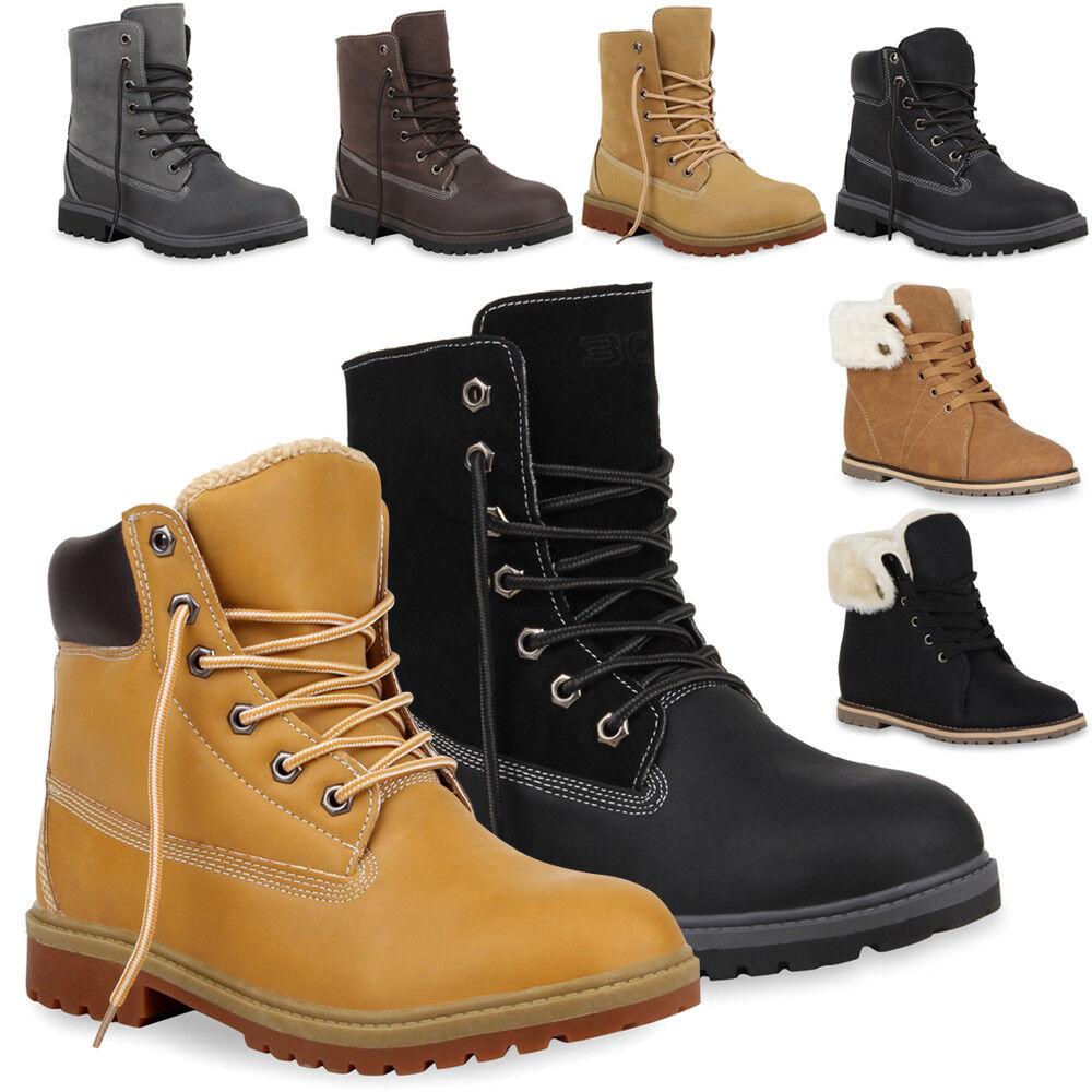 Herren & Damen & Kinder Profilsohle Outdoor Boots Gefüttert 890339 Gr. 28-46