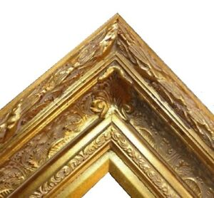 5-5-034-WIDE-Gold-Antique-family-Oil-Painting-Wood-Picture-Frame-668G-frames4art