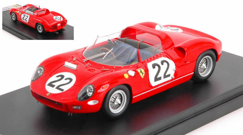 Ferrari 275p  22 Accident Lm 1964 G. Baghetti   U. Maglioli 1 43 Model LOOKSMART