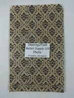 6 X 9 Damask Print Design Paper Merchandise Bag Retail Shopping