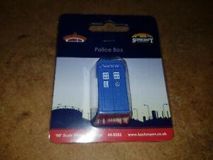 OO Gauge Bachmann Scenecraft 44-0502 Police Box (Doctor Who Tardis) building
