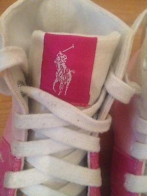 Sneaker Schuhe Gr. 34.5 Mädchen schuhe Polo Ralph Lauren