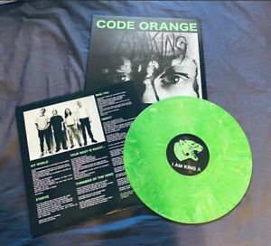 Rare Code Orange I Am King Green Color Vinyl Record Lp Green 340 Hardcore Ebay