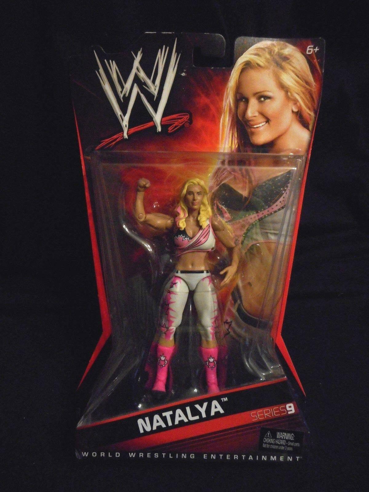 WWE World Wrestling Entertainment  Natalya Series 9 NRFB 2010 Mattel V1211