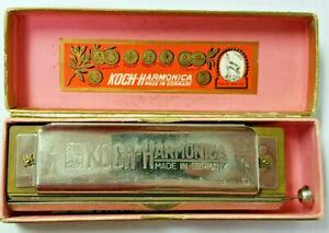 Koch Chromatic Harmonica Key of C Made in Germany with Original Box