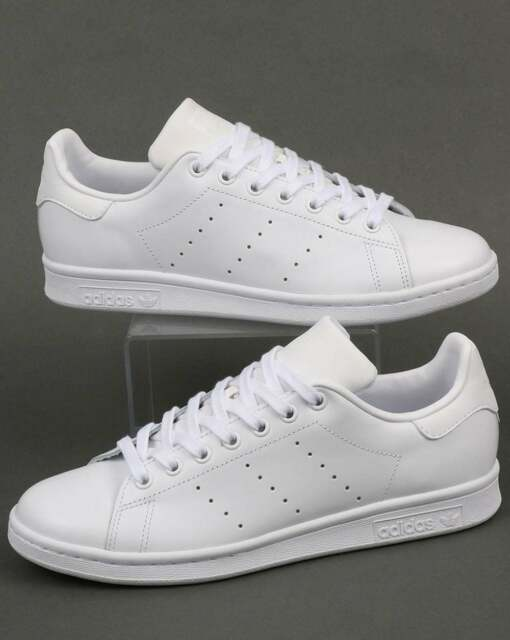 pretty nice 89db4 41c58 adidas Originals - Adidas Stan Smith Trainers in Triple White - leather  classic