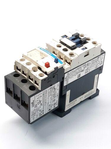 Telemecanique LC1D096BD Contactor w// LRD 05 Relay 0.63-1A LAD4TBDL