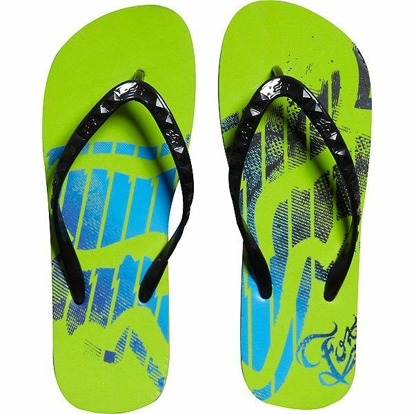 FOX RACING GIRLS RUNAWAY FLIP shoes FLOPS VIVID GREEN beach shoes FLIP sandals womens NEW 8fb4cb