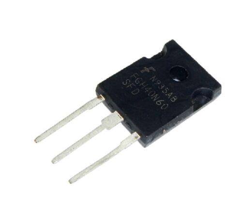 FGH40N60SFD Manu:N//A Encapsulation:TO-247,600V 40A Field Stop IGBT