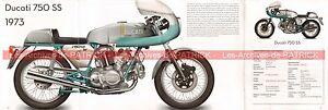 Ducati 750 Ss 1973 Fr Fiche Moto 000536 Bjp71uco-08003430-846002110