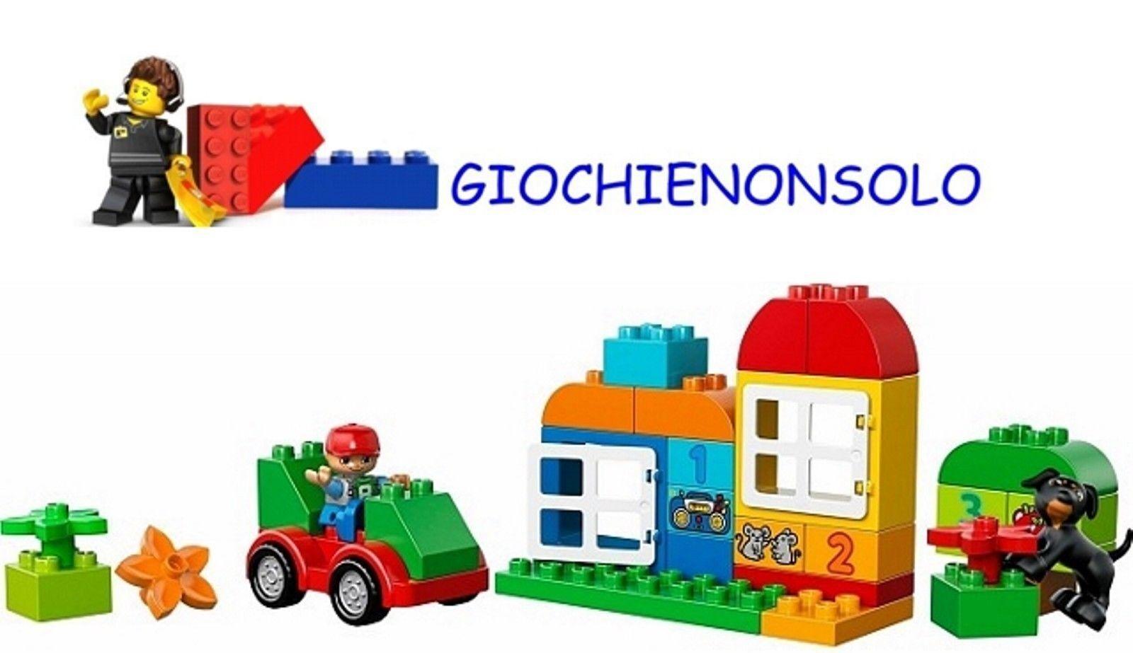 LEGO DUPLO 10572-SCATOLA COSTRUZIONI TUTTO