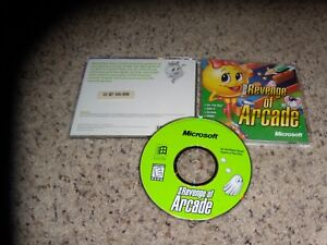 Microsoft Revenge Of Arcade Pc 1998 Near Mint Ebay