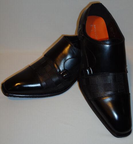 Mens Antonio Cerrelli 6670 Classy Slip On Dress Shoes Loafers Rich Black