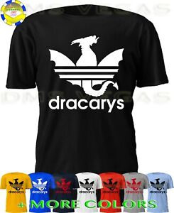 Details about Game Of Thrones Dracarys Adidas Parody Daenerys Targaryen Dragon Shirt Men S 5XL