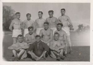 Vintage-photograph-good-looking-shirtless-young-men-sport-gay-interest
