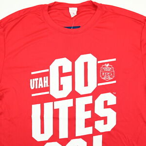 Details about University of Utah Utes Stretchy Gym Shirt Mens MEDIUM