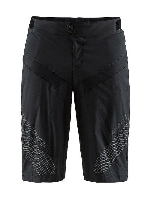 Craft Route XT shorts robusto y desenfadados bike-pantalones para caballeros en negro talla XL