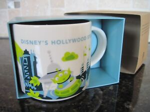 Details About Starbucks Walt Disney World Hollywood Studios You Are Here Coffee Mug 2nd Edtion
