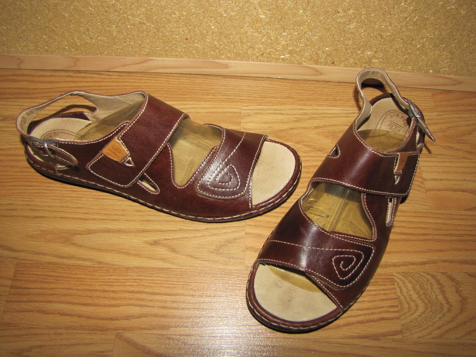 NWOB Josef Seibel Brown Strappy Sandals - 10 European 42