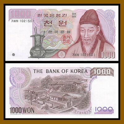 Korea South P 47-1000 Won 1983 aUNC
