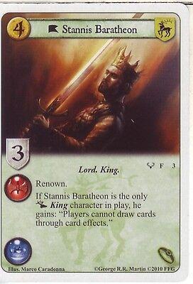 A Game Of Thrones 2nd Edition LCG Alt Art Stannis Baratheon