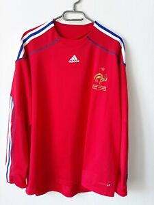 new product 2a422 9b66f Details about FRANCE NATIONAL FOOTBALL GOALKEEPER SHIRT JERSEY 2008/2009  FORMOTION