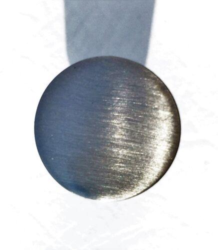 Brushed Nickel Antique Drawer Pulls MCM Mid Century Modern Knob Baughman McCobb