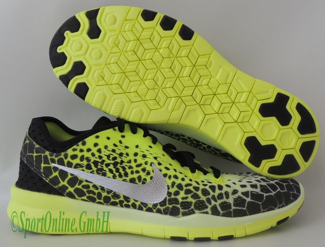 5 TR 5.0 Free WMNS Nike NEU Print Fit 704695 010 Running