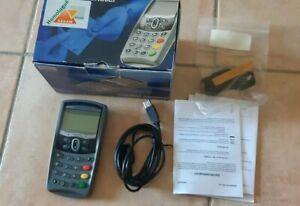 Lecteur de Carte Vitale Sagem MONETEL TWIN 30 RS232 USB GS en boite