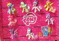 Mcdonald's 2016 My Little Pony Complete Set Of 8 - On Hand - Free Shipping