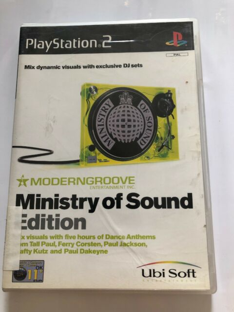 Moderngroove Ministry of Sound Edition PS2 Game USED - FREE SHIPPING!