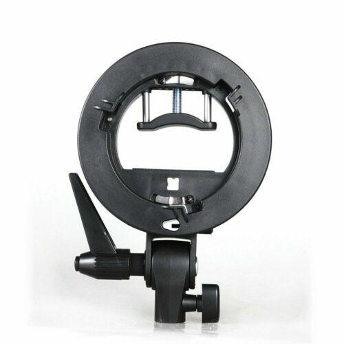 Light Stand For Speedlite Studio Flash Light GODOX Bowens Mount S-type Bracket