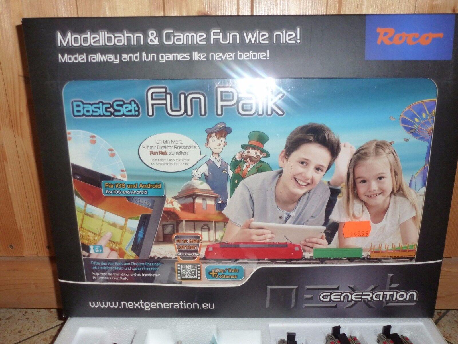 Roco, Next Generation Basis-Set  Freizeitpark , 51400  | Verschiedene Stile und Stile