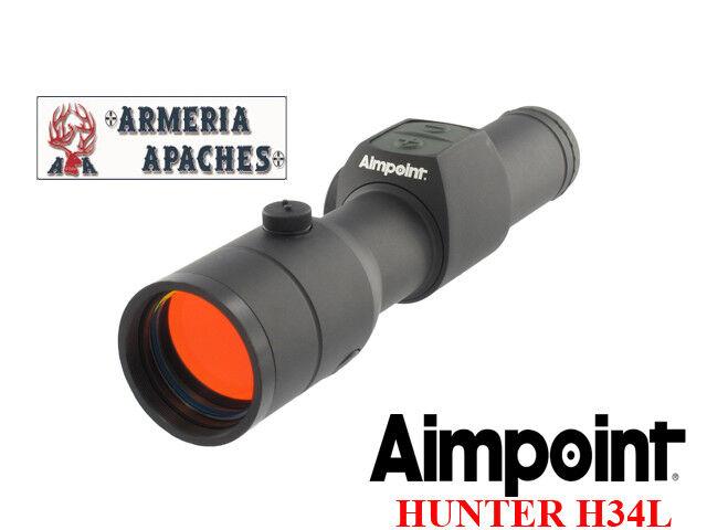Punto rosso rosso Dot mirino Aimpoint Hunter H34L