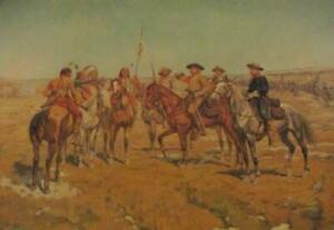 Lot-of-6-Remington-Russell-Schreyvogel-Western-Prints-From-Portfolio