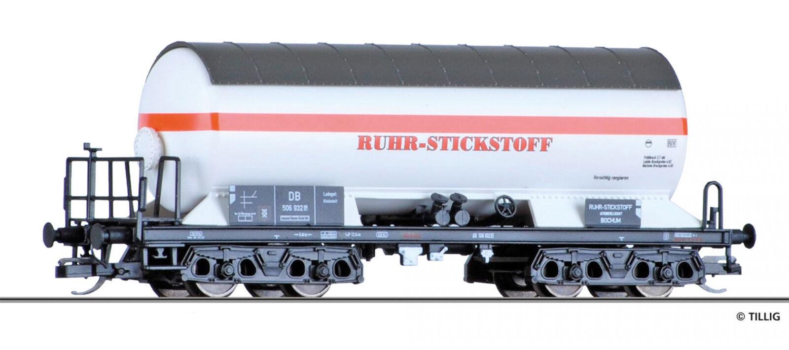 venta caliente Tillig Tillig Tillig 15009, gaskesselwagen Ruhr-nitrógeno, DB, nuevo y en su embalaje original, TT  diseñador en linea