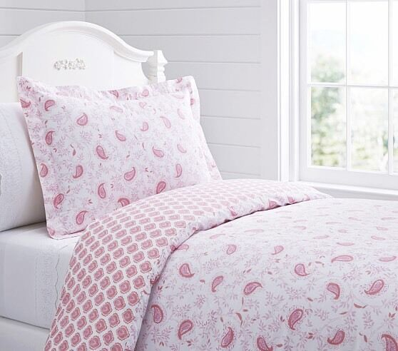 Lara Reversible Twin Duvet Cover Sham