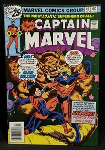 1976-CAPTAIN-MARVEL-45-NM-1st-6-SOUL-GEMS-Comic-GLOSSY-70s-STAN-LEE-Key-Issue