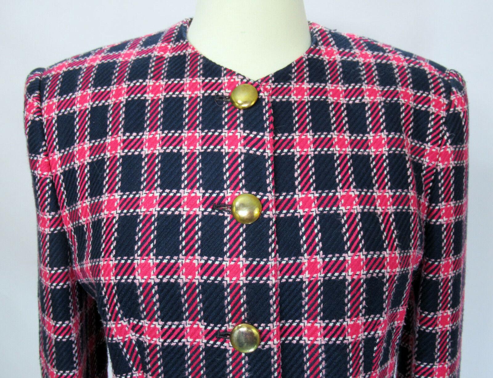 Vintage Evan Picone 1980s or 1990s blazer jacket … - image 2