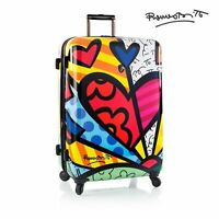 Heys Romero Britto Luggage 30 A Day Fashion Hardside Spinner Suitcase Tsa