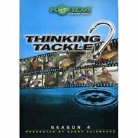 Korda Thinking Tackle Dvd Season 4 3 Disc 420 Minutes