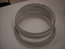 """MEAT AND BONE CUTTING BUTCHER'S BAND SAW BLADES 124"""" BUNDLE OF 4 BLADES"""