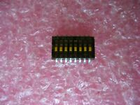 Lot Of 10 Alco Ghd08 8-position Half-pitch Low-profile Surface Mount Dip Switch
