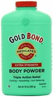 5 Pack - Gold Bond Body Powder Medicated Extra Strength 10 Oz Each on sale