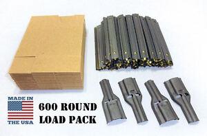 Stripper Clip Reload Kit w/ Cardboard Sleeves & Charger/Loader Spoon 5.56mm USGI