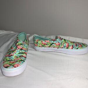 flamingo sneakers vans