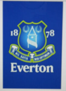 Everton FC Club Logo Poster (600x900mm) - brand new - wrapped in tube  (#475)