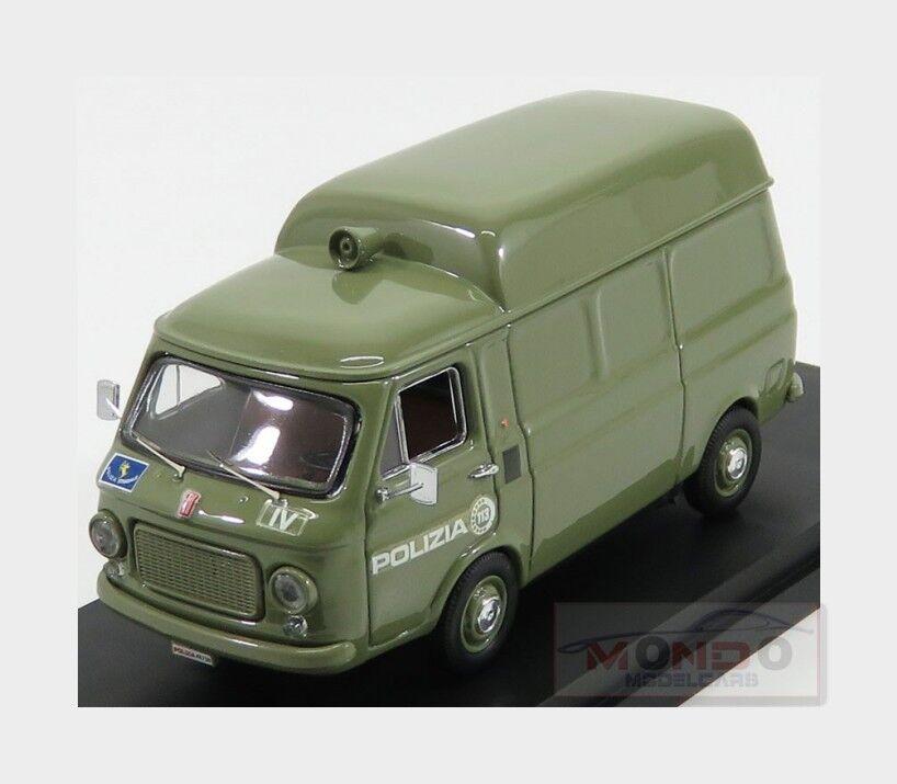 Fiat 238 Van Polizia 1972 verde RIO-MODELS 1 43 RIO4578